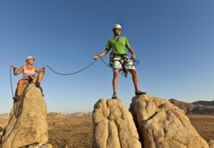 Why Zealous Couples are Fearless - rock climbing