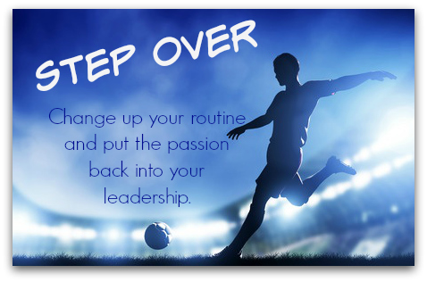 Step Over to Change Up Your Routine