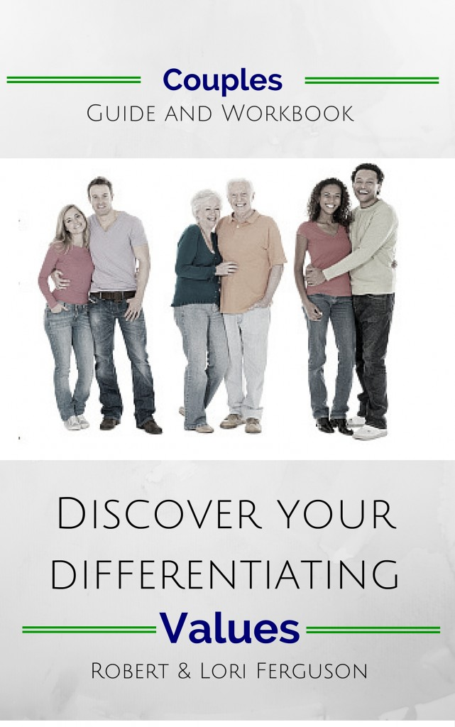 For Couples Discover Your Differentiating Values - ebook cover 1 v2