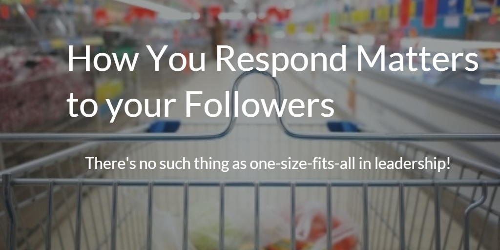 How You Respond Matters to Your Followers