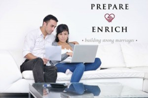prepare enrich couple on couch