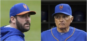 Matt Harvey and Terry Collins