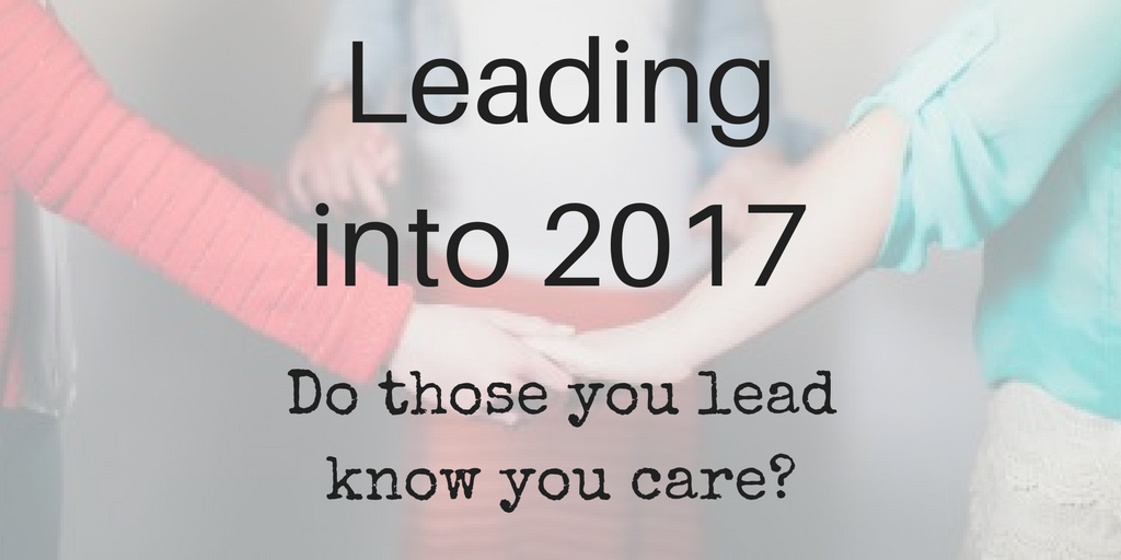 Leading into 2017 – What's your focus?
